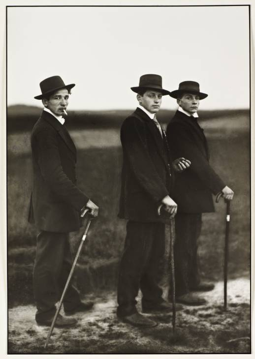 Young Farmers 1914, printed 1996 by August Sander 1876-1964