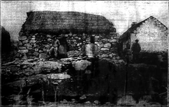 A halftone reproduction of this hut was featured on The Irish Independent  Magazine Page on May 14, 1913. It was printed under the headline