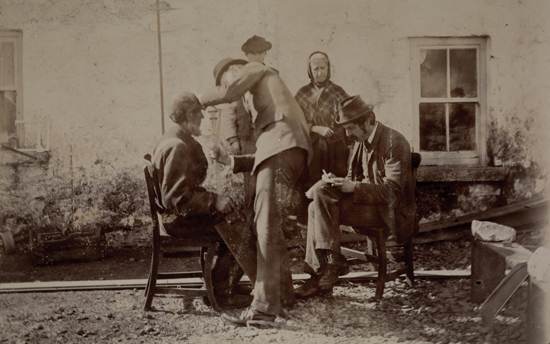 TCD MS 10961/4/1v, Anthropometry in Aran: Aran Islands, 1892.